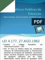 Políticas Públicas de Televisão