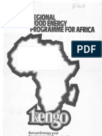 Regional Wood Energy Programme for Africa Survey on the Dissemination and Impact of the Kenya Ceramic Jiko in Kenya by Silvester a Namuye