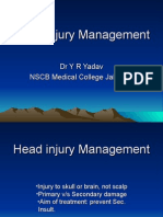 Head Injury Management