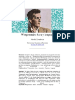 ética y lenguaje Wittgenstein