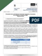 Pronostico y Nombres de Ciclones Mexico 2009