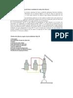 La producción de esponja de hierro mediante la reducción directa