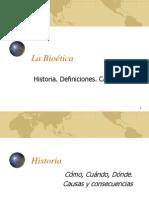 Lectura 17. Historia de la Bioética