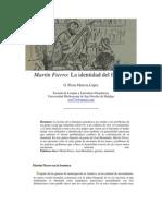La identidad del fracaso, EL Martín Fierro