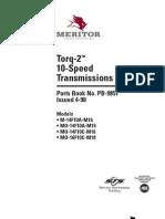 Catalogo de Partes Transmiciones Meritor