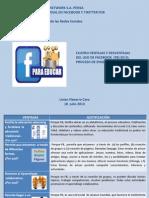 ACTIVIDAD UNIDAD 3 VENTAJAS Y DESVENTAJAS DE FACEBOOK EN LAS ESTRATEGIAS DE ENSEÑANZA-APRENDIZAJE