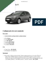 Fiat _ Imprima Seu Carro - Punto