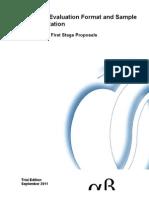 Standard Evaluation Format 1st Stage Proposals1