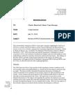 RKG Associates Review of MTGA Palmer Socioeconomic Analysis
