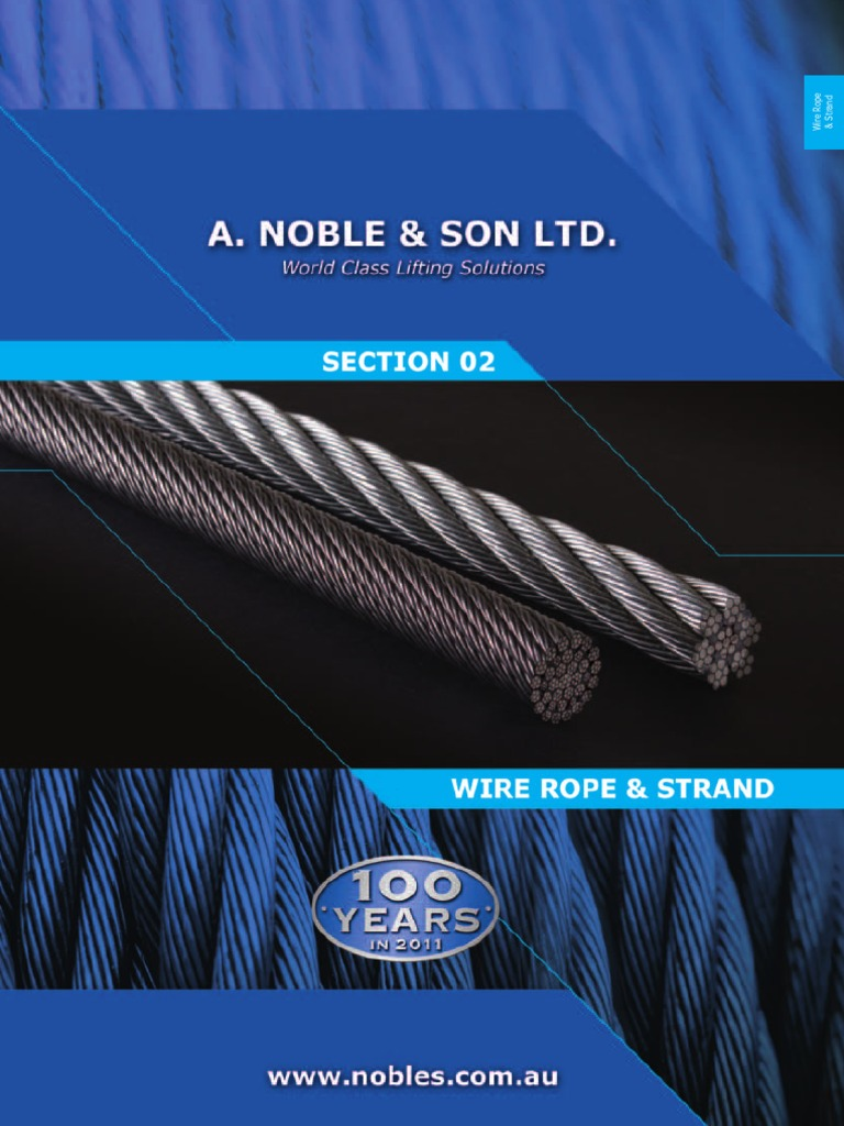 02 Wire Rope Strand   Rope   Wire