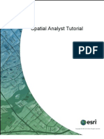 Spatial Analyst Tutorial
