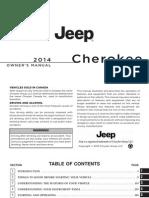 2014 Cherokee Owner's Manual