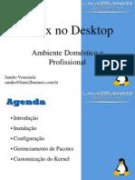 Linux no Desktop - Ambiente Domestico e Profissional