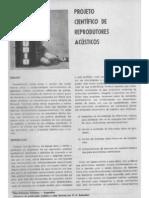 Projetos de Sonofletores - Bonello