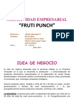 Idea de Negcio - Fruti Punch