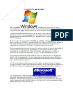 Historia y Evolucion de Windows (1)