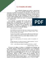 Discurso Salvador Gutiérrez Gramática para todos