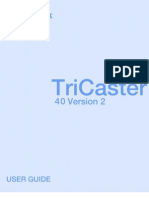 TriCaster 40 Version 2 User Guide