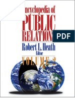 Encyclopedia of Public Relations, 2005