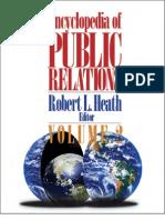 Encyclopedia of Public Relations, 2005