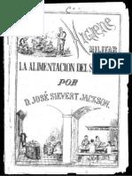 La Higiene Militar Alimentacion Del Soldado 1893