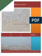 Acciones de política urbana para PV