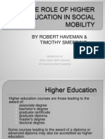 The Role of Higher Education in Social Mobility-2