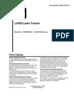 Parts Manual 3355-340