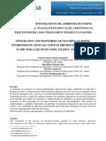 Artigo Integração Monitora Hiperdocumento - Revista UFRGS
