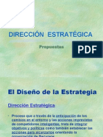 DISEÑO ESTRATEGIAS