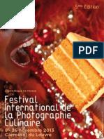 Communiqué de presse - FIPC 2013