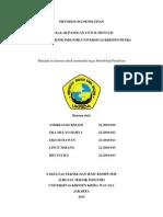 Tugas Metodologi P. (IND-2) - Penulisan Jurnal Ilmiah