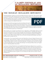 MEXICAN MURALISM Contreras Media Kit Mural Tradition