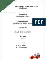 Sindicato de Choferes Profecionales de Chimborazo