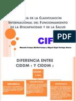 Historia de la Clasificación Internacional del Funcionamiento de (1)