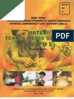 Materi Teknis Medis Standar, Depkes 2005