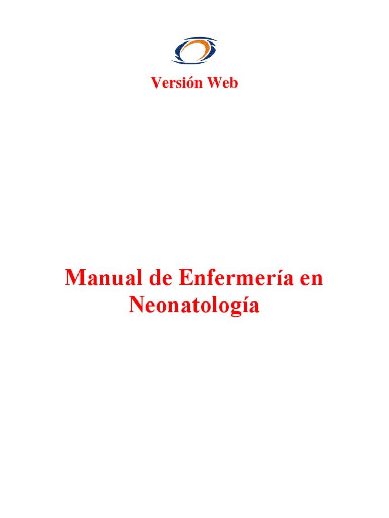Manual de Enfermería en Neonatología