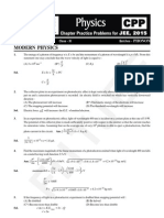 Modern Physics (CPP 1 to 3)
