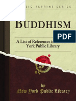 Buddhism-A List of References of New York Public Library
