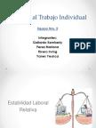 Derecho Al Trabajo Individual