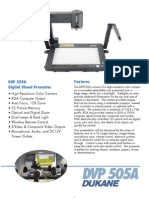 Dukane DVP 505A Visual Presenter
