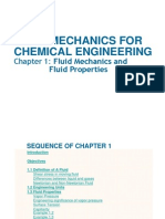 AE 233 (Chapter 1) Fluid Mechanics for Chemical Engineering