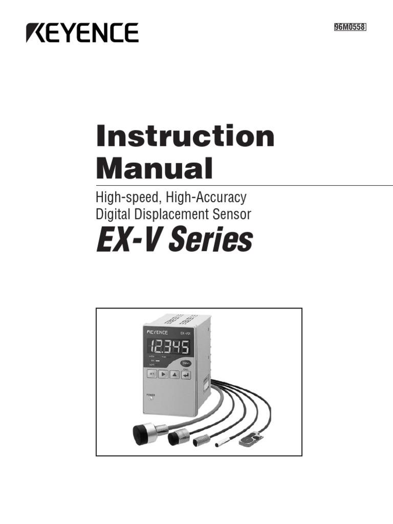 EX-V Series: Instruction Manual