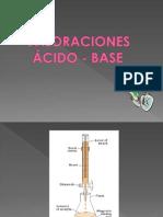 Clase 3. Valoraciones Acido - Base