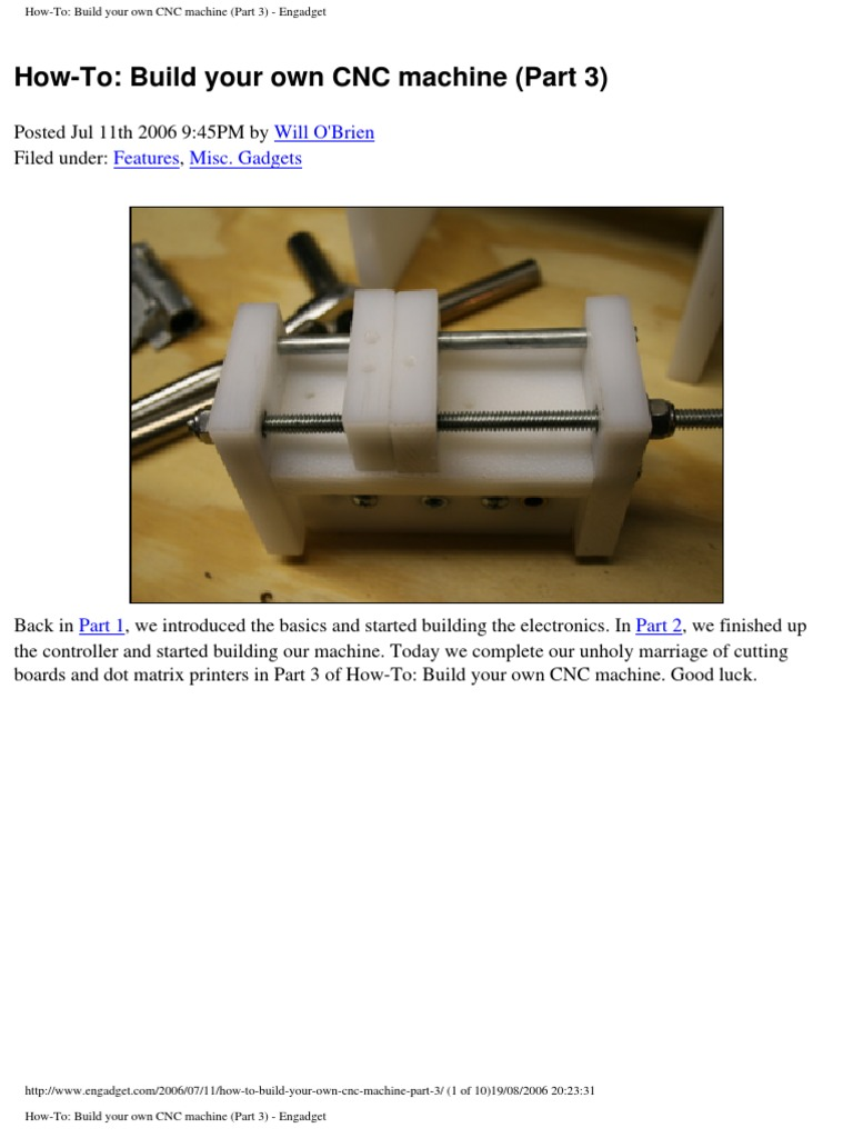 CNC Machine (Part 3) | Switch (24 views)