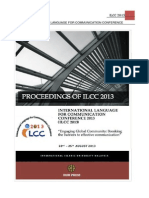 ILCC 2013 Proceedings