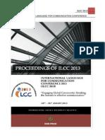 ILCC 2013 Proceedings