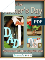 Crafts for Fathers Day 36 Homemade Fathers Day Gift Ideas Free eBook