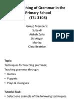 Grammar Tsl3108 Tutorial6