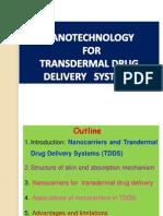Nanocarriers for Transdermal Drug Delivery